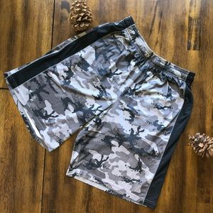 Under Armour Camo Print Basketball Shorts Medium